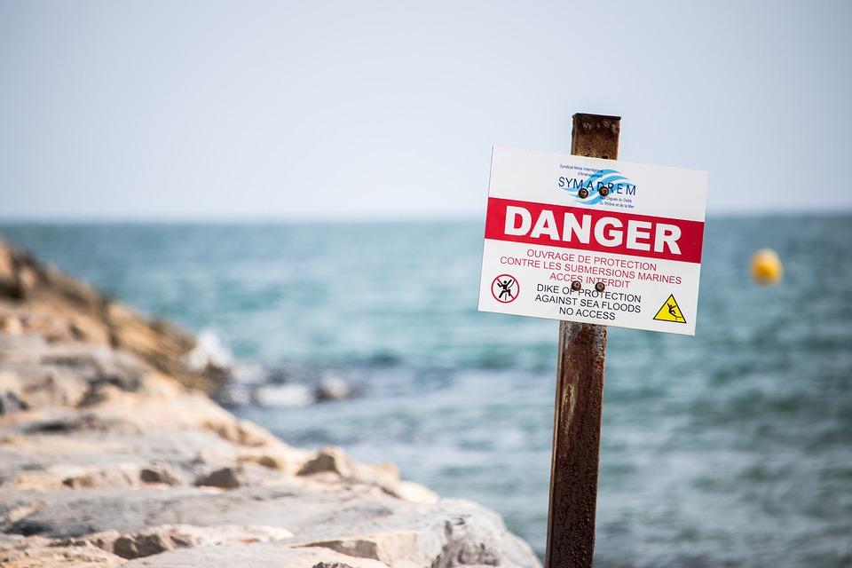 Dangers in the water